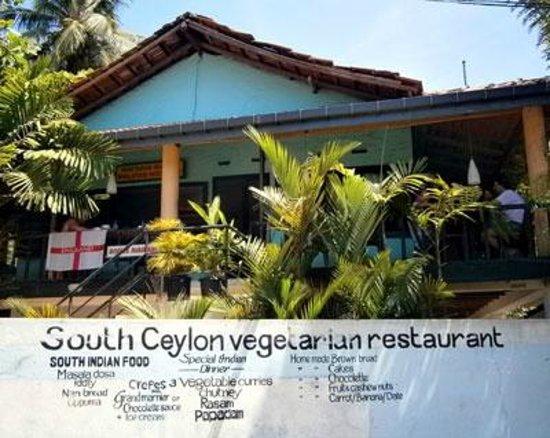 South Ceylon Vegetarian Restaurant, Unawatuna