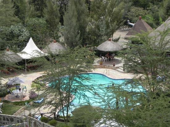 Lake Naivasha Panorama Park & Lodge: Pool