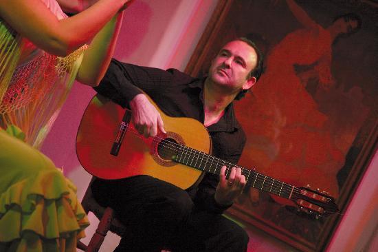 Tablao Flamenco Los Gallos - Sevilla - Guitarrista