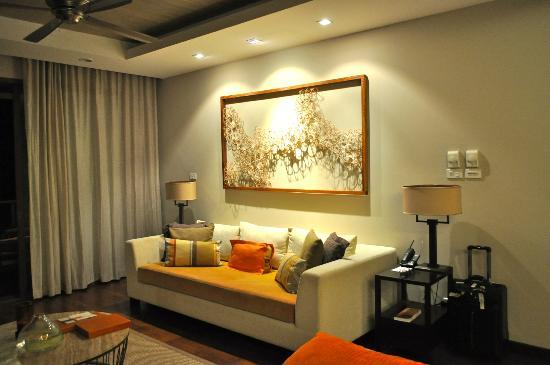 ShaSa Resort & Residences, Koh Samui : living room