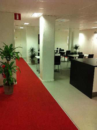 Hotel Soder: Corridor
