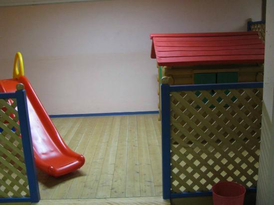 Jutel Obertraun: Jutel Hostel Obertraun - playground