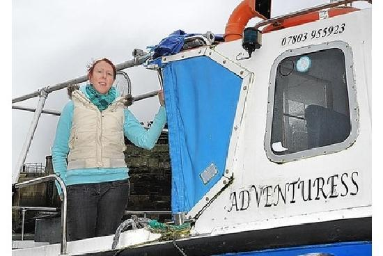 Paddlefish Adventure: Your Skipper - Kelly