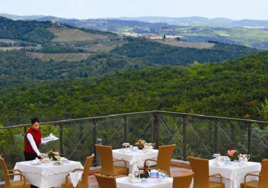 Petriolo Spa Resort: Terrazza