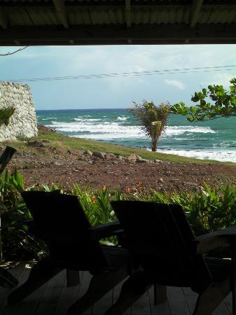 Pagua Bay House Oceanfront Cabanas: Vue de la Cabana 5
