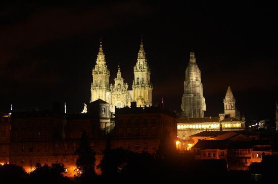 Hotel Pazos Alba: la meravigliosa vista sulla cattedrale dalla nostra camera