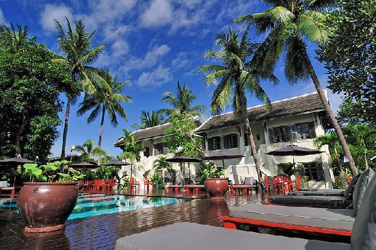 วิลล่า มาลี: Pool at Villa Maly