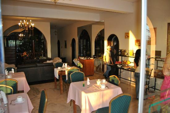Casa Blanca Hotel: CAfe da Manha