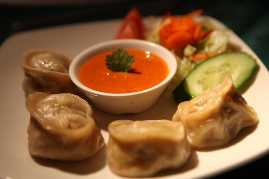 Mouth watering lamb momo - Picture of Yeti Nepalese Restaurant, Oxford ...