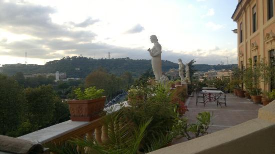 BEST WESTERN Hotel Astrid: terrazza sala colazioni