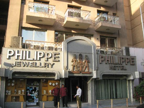 Philippe Hotel: View of hotel from the street
