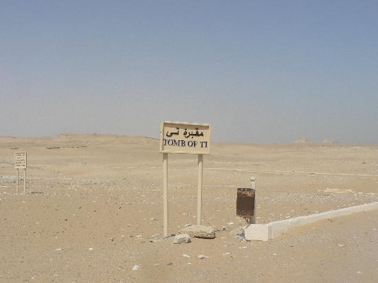 Mastaba of Ti : sign