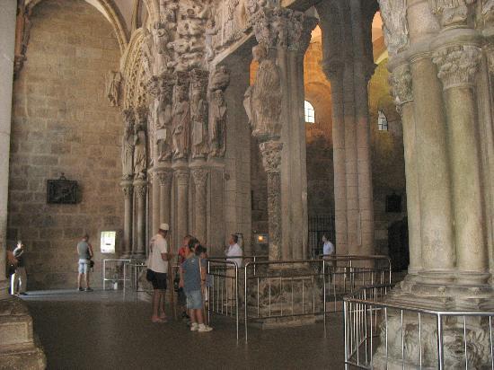 Portico de la gloria interior catedral de santiago - Interior santiago de compostela ...