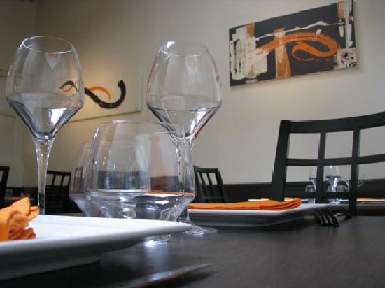 Restaurant l'Evidence : L'Evidence Interieur