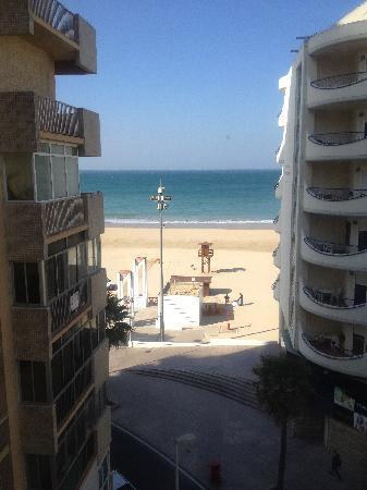 Hotel Spa Cadiz Plaza: Vista