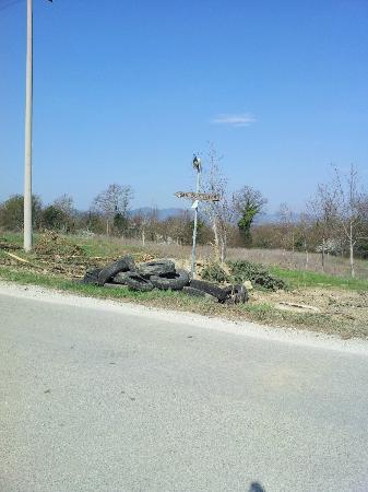 Agriturismo San Cristoforo: ingresso