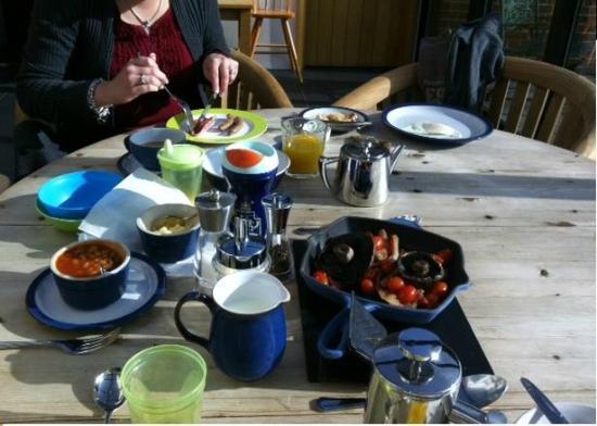 Sylvan Cottage: Breakfast