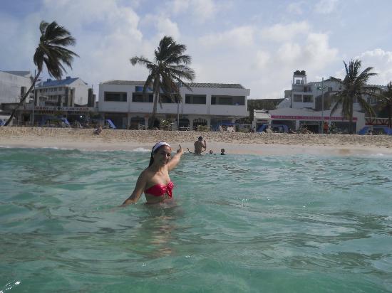 بورتوبيلو بوليفارد: desde la playa