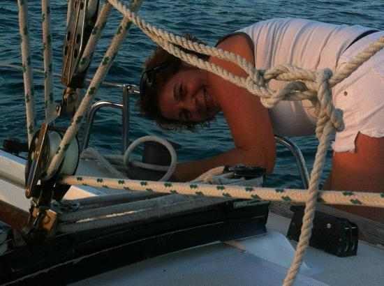 Anna Maria Sailing Adventures: Captains wife