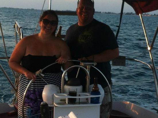 Anna Maria Sailing Adventures: Awesome Anniversary Sunset Cruise