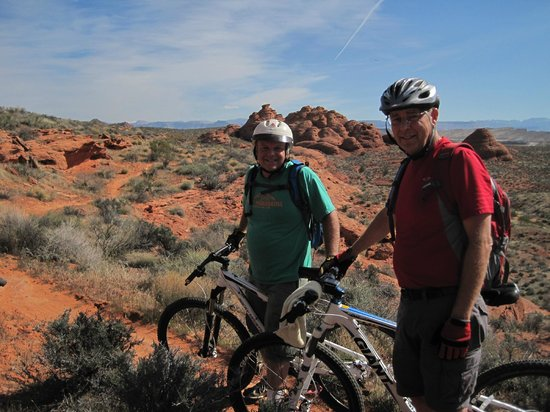 Virgin, UT: Church Rocks and Prospector Trails