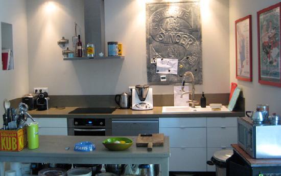 Salle de bain de la chambre parme grande douche for Cuisine italienne