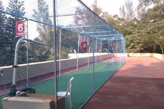 Club Mahindra Madikeri, Coorg: Cricket nets