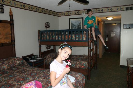 Bunk Bed Room Picture Of Disney S Wilderness Lodge Orlando
