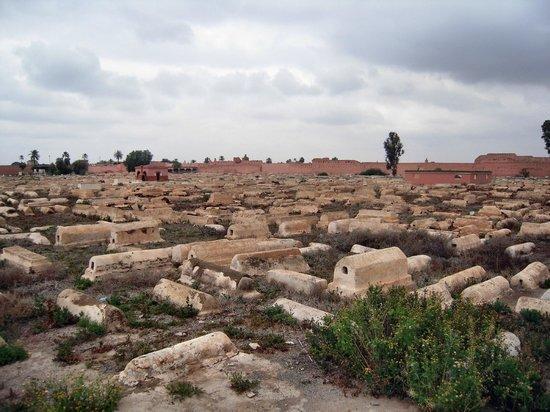 Jüdischer Friedhof in Mellah