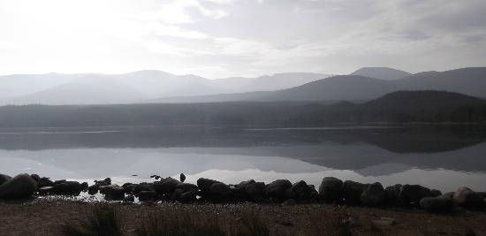 Ossian Hotel: A nearby Loch