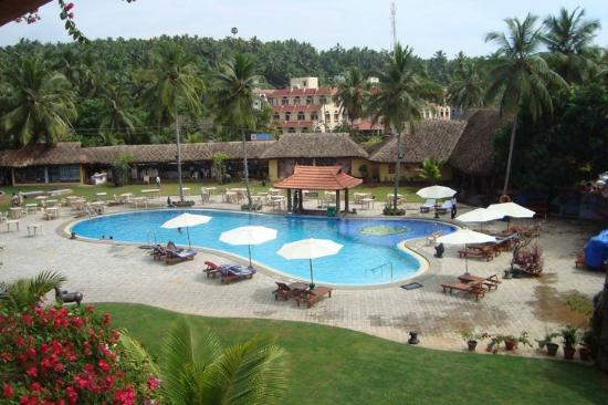 Uday Samudra Leisure Beach Hotel & Spa: View from my room