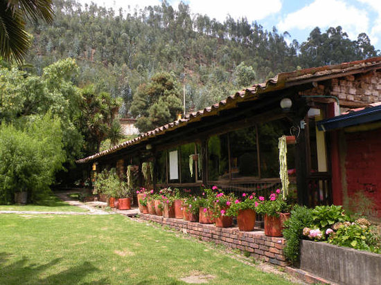 Finca San Pedro: Hall for Yoga and special events.