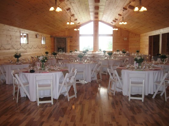 Caroline Cellars Winery: Our Special Events Loft set up for a wedding