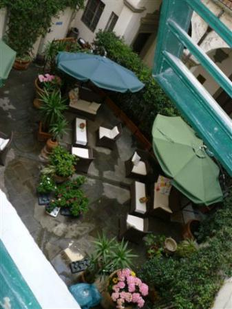 Hotel Palazzo Benci : il cortile interno dell'hotel