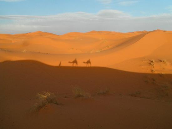 Auberge La Source: Ruta del albergue a el campamento entre las dunas