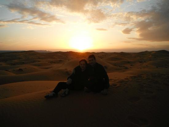 Auberge La Source: La puesta y la salida del sol desde la gran duna es la atracción estrella