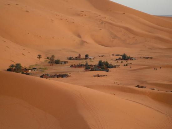 Auberge La Source: Campamentos en el oasis entre las dunas, lo recomendamos a todos los viajeros