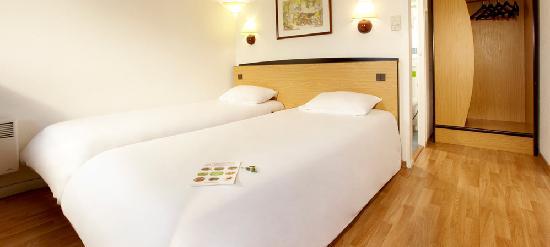 Campanile Pau: Chambre Twin à deux lits séparés