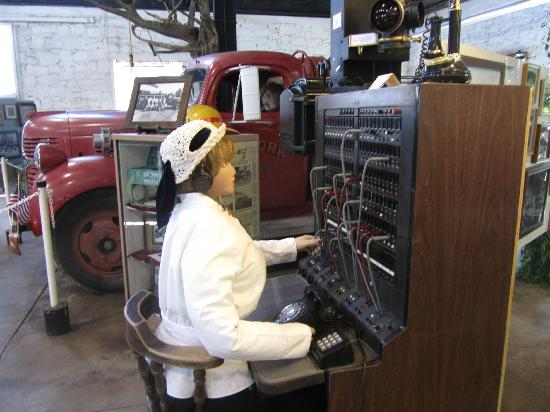 Ash Fork Historical Society Museum: Switchboard operator - your kids will love it!