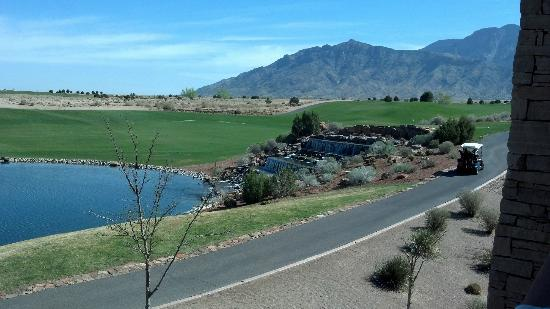 Sandia Resort & Casino: 18th green
