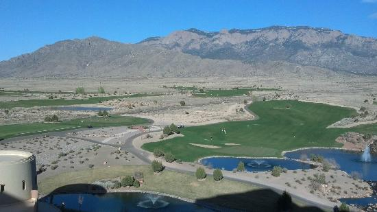 Sandia Resort & Casino: From room balcony