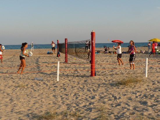 Mistral Marina Piccola B&B: Poetto beach