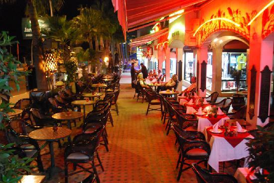 La terrasse picture of le jardin d 39 eau agadir tripadvisor Le jardin restaurant
