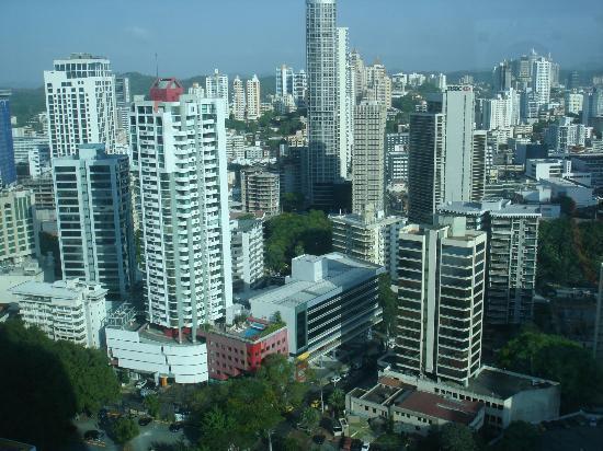 Hotel Riu Plaza Panama: Vista desde la habitación, piso 28