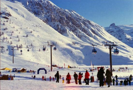 Tignes Cuisine : Bubble to Val D! So easy to ski to and from!