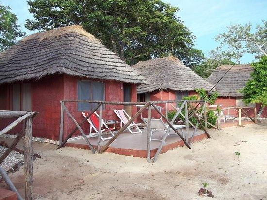 Bissagos Islands, Guinea-Bissau: cabins