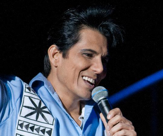 Rock-A-Hula: Johnny Fortuno as Elvis