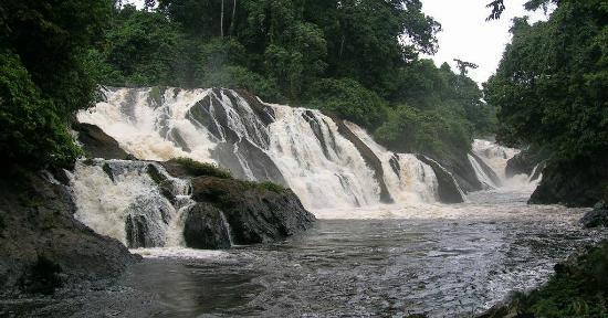 Monte Alen National Park, Equatorial Guinea: Cascada Mosumo