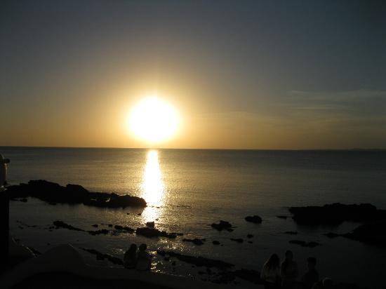 Un atardecer en Punta Ballenas, Hotel Casapueblo