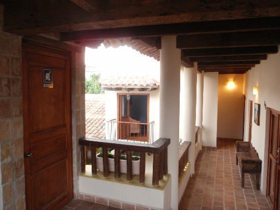 Hotel San Marcos: il balcone della nostra stanza